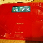 ノルバデックスで体重増加 ~オムロン体組成計で管理~